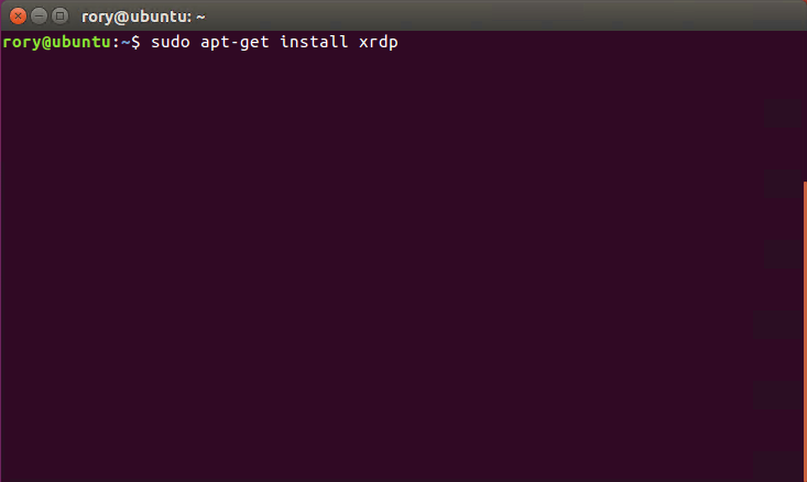 How to: RDP to Ubuntu - Rorymon com